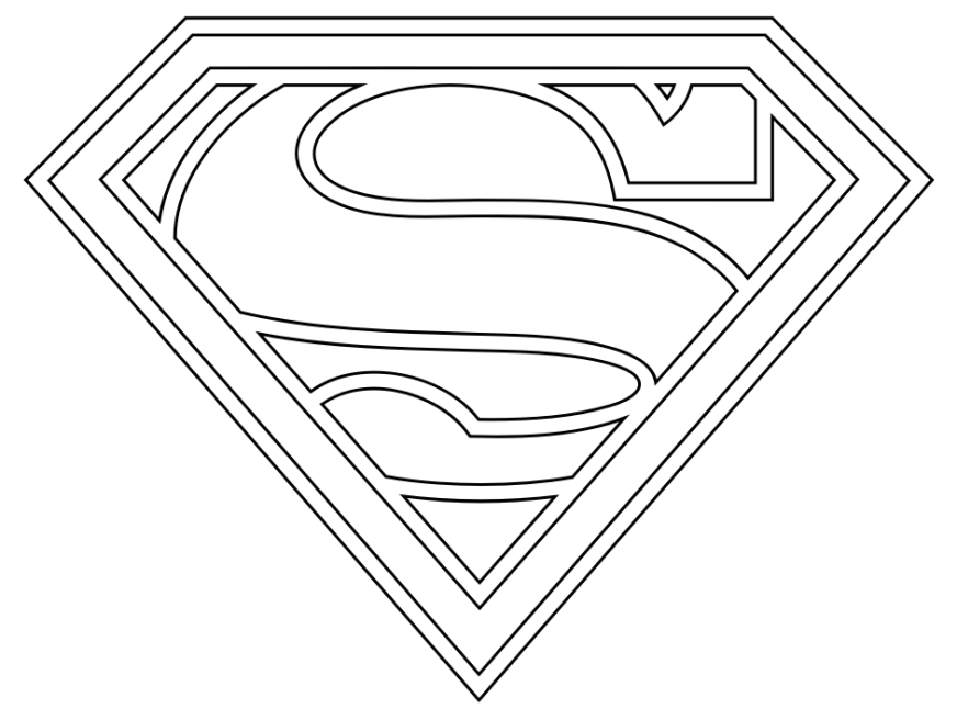 supergirl coloring pages clip art library