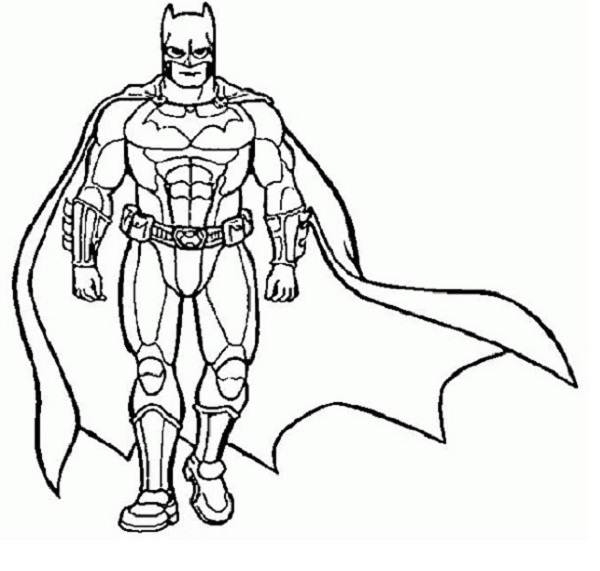 superhero coloring page coloringme