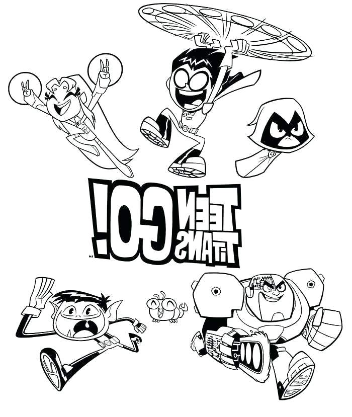 teen titans coloring pages interesantecosmetice