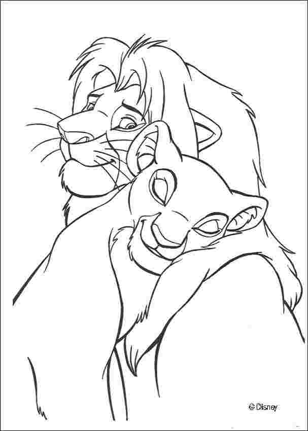 the lion king coloring pages ba simba animated lion