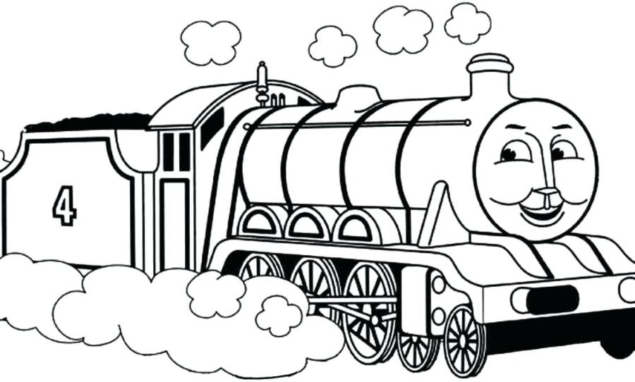 thomas the train and friends coloring pages at getdrawings