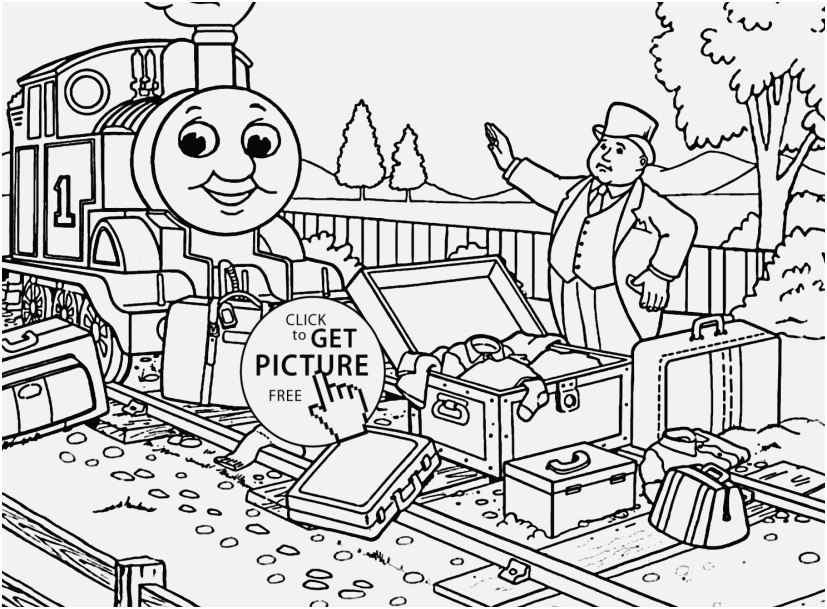 thomas the train coloring book picture thomas and friends