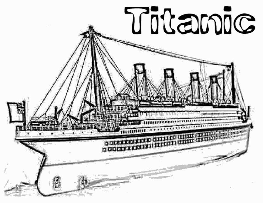 titanic coloring page titanic ausmalen und ausmalbilder