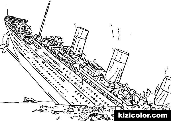 titanic half sinking into the ocean pages kizi free