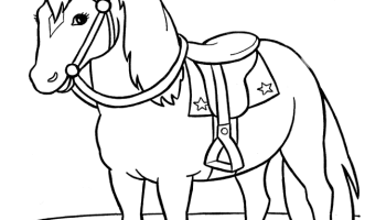 Horses Coloring Pages Picture Whitesbelfast