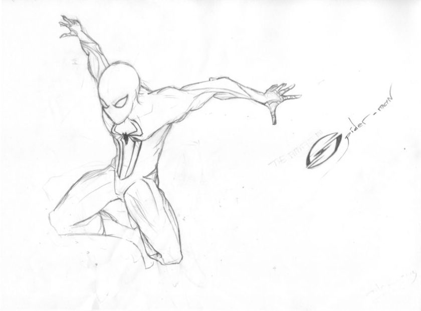 top coloring pages spiderman spider drawing at getdrawings