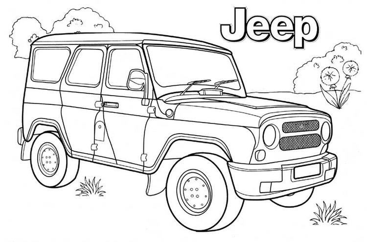 top jeep coloring pages for boys fun for kids