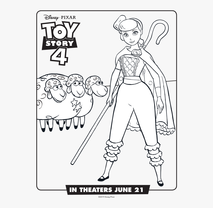 Toy Story 4 Coloring Pages Gallery - Whitesbelfast