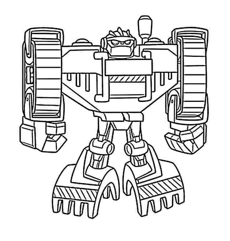 transformers rescue bots academy coloring pages three