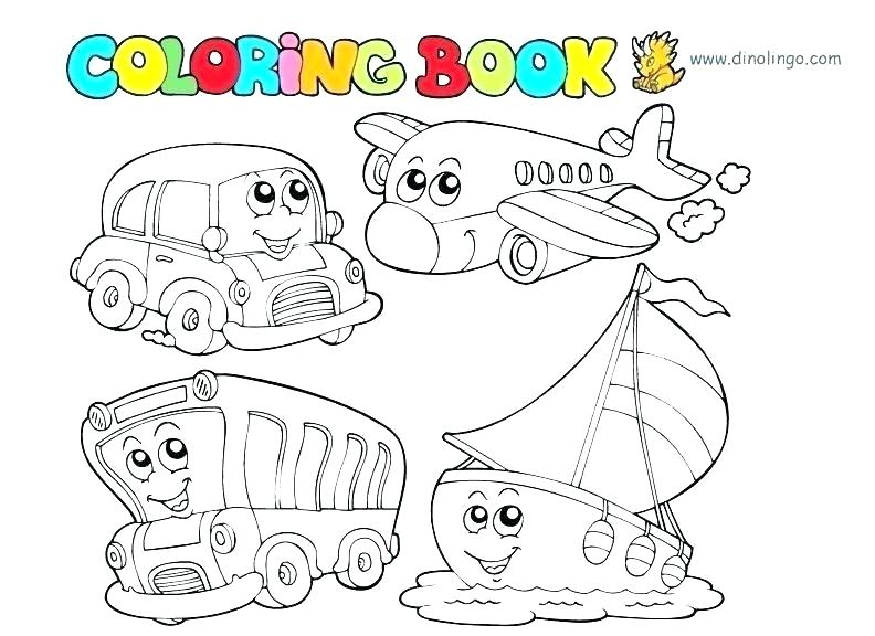 transportation coloring pages ameliakate