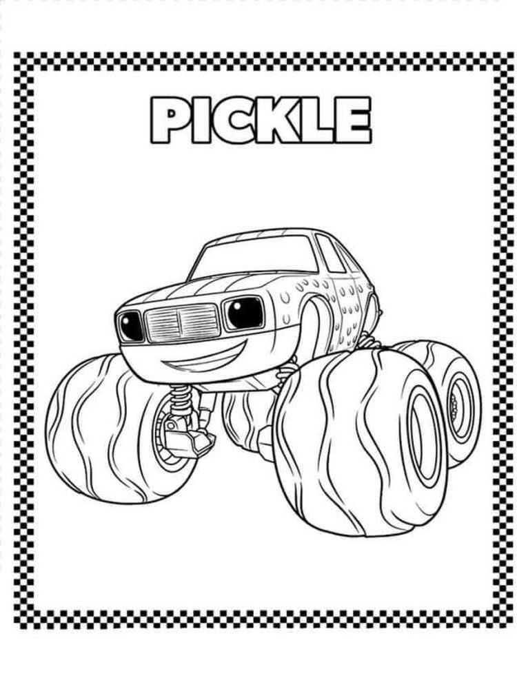 trends for blaze monster machines coloring pages sugar and