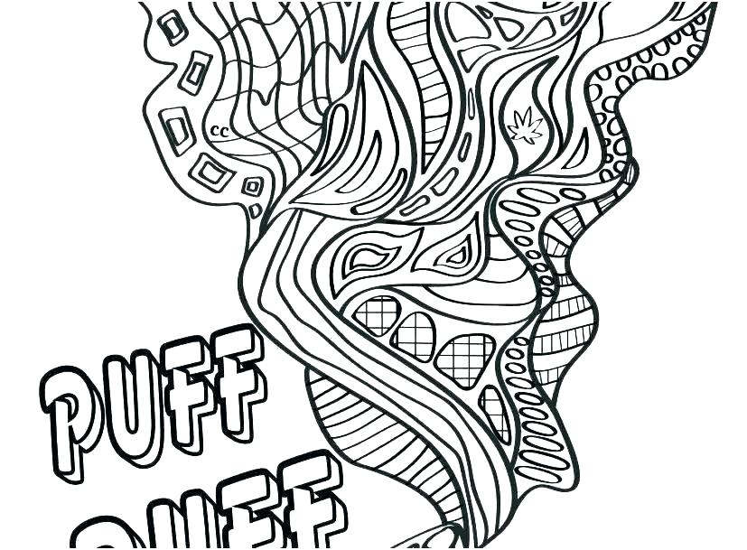 trippy coloring pages to print pusat hobi