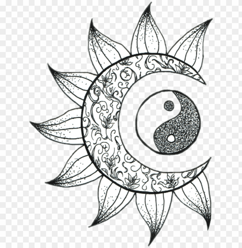 tumblr moon sol luna sticker png tumblr flower moon artsy