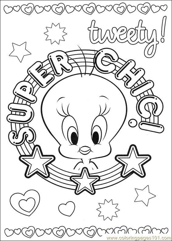 tweety 52 coloring page free tweety bird coloring pages