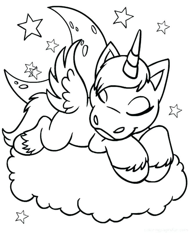 unicorn coloring pages online at getdrawings free for