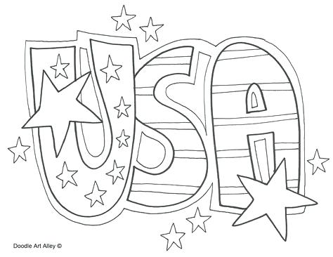 usa coloring pages flag colouring patriotic sefoxclub
