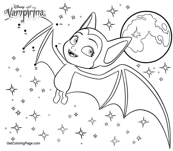 vampirina and poppy coloring pages berbagi ilmu belajar