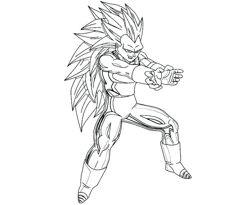 vegeta coloring pages at getdrawings free for personal