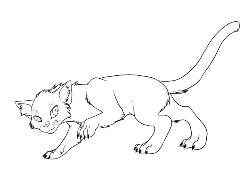 warrior cat coloring pages to print coloring home