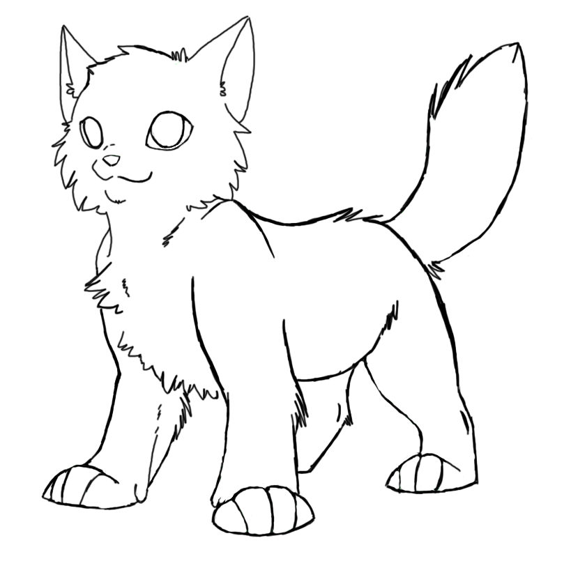 warrior cats printable coloring pages warrior cats coloring