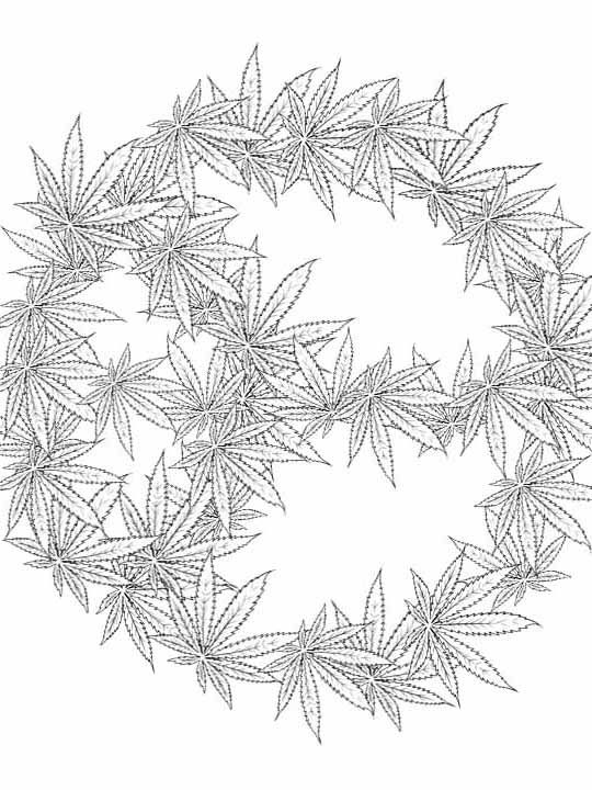 weed coloring pages at getdrawings free for personal