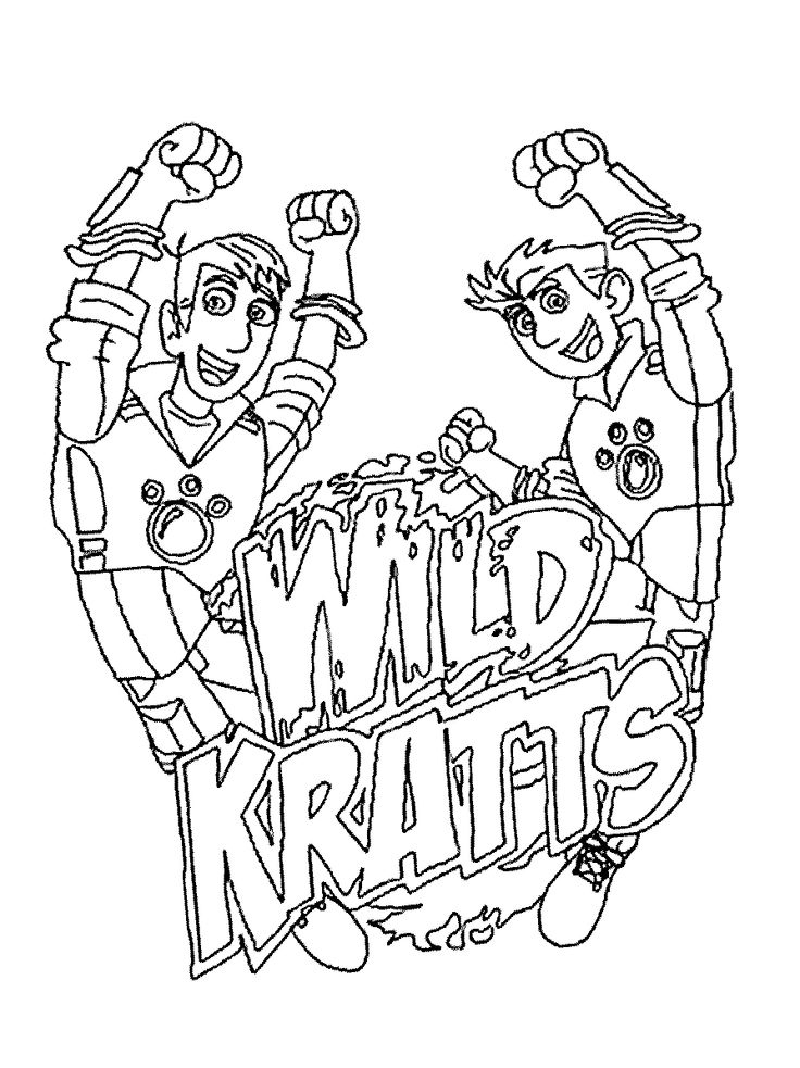wild kratts coloring pages best coloring pages for kids