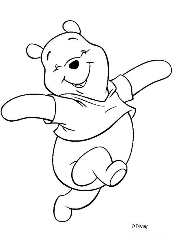 winnie the pooh coloring pages hellokids
