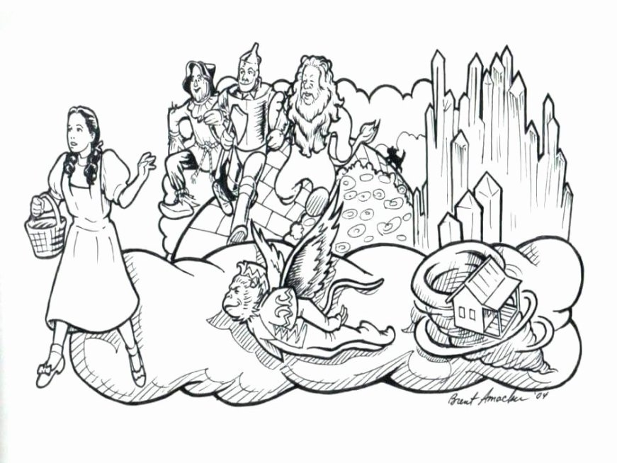 wizard of oz coloring book lovely wizard of oz coloring