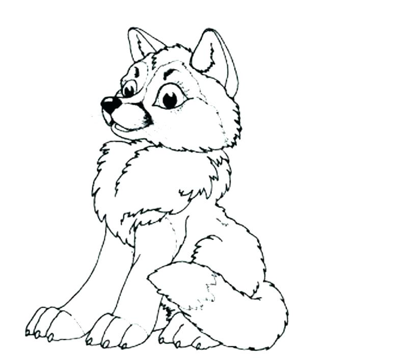 wolf coloring pages printable at getdrawings free for