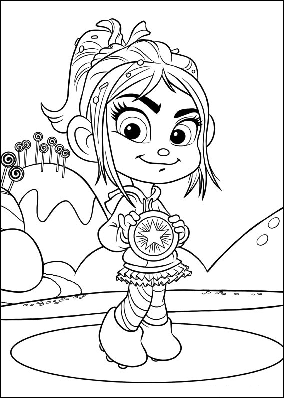 wreck it ralph to color for kids wreck it ralph kids