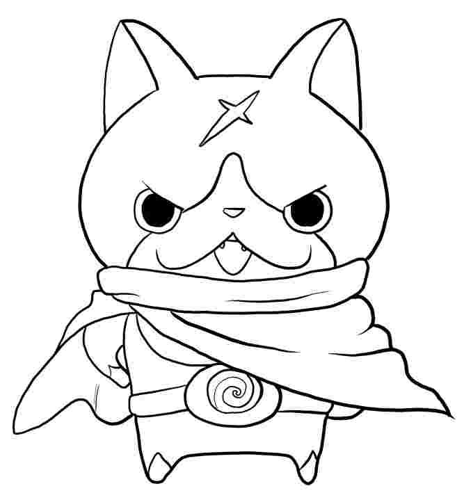 yo kai watch coloring pages to print hovernyan from yo kai