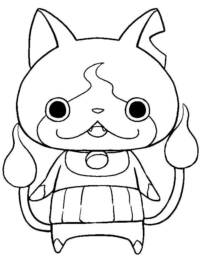 yokai watch coloring pages starkcoins