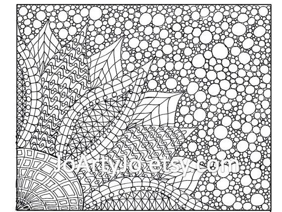 zentangle coloring pages to print pusat hobi