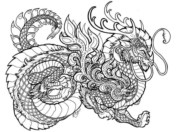 zentangle dragon bing images malvorlagen tiere lustige