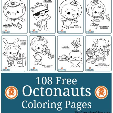 108 free octonauts printable coloring pages octonauts
