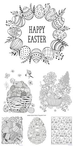 160 best easter coloring pages images in 2019 coloring