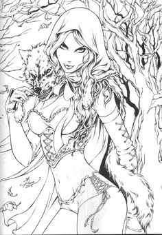 255 best grimm fairy tales coloring pages for adults