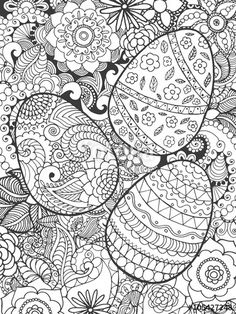 311 best spring easter coloring pages images coloring