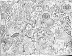 314 best trippypsychedelic coloring pages images