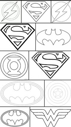 47 best superhero coloring pages images superhero