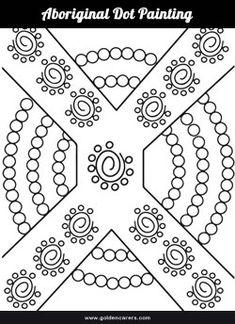 aboriginal colouring pages naidoc week aboriginal art