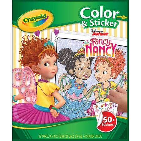arts crafts sewing fancy nancy crayola coloring pages