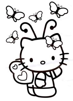 ba hello kitty coloring pages how to draw fairy hello