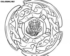 beyblade anime coloring pages for kids printable free