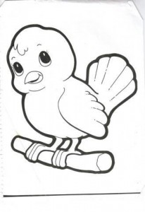 bird coloring pages for kids preschool and kindergarten