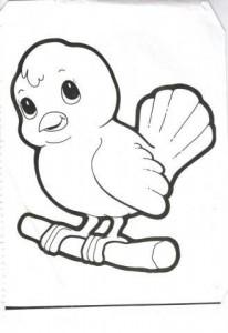 bird coloring pages for kids preschool and kindergarten