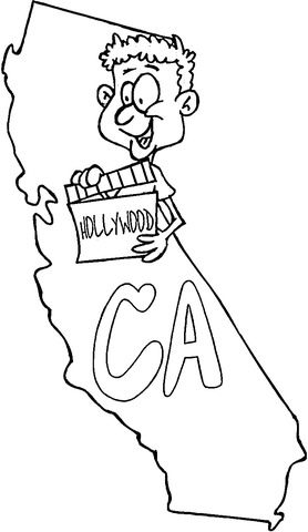 california map coloring page free printable coloring pages