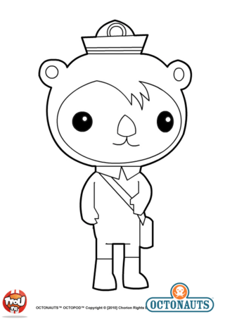 coloriage shellington octonauts coloring pages