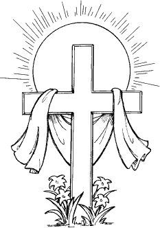 cross l 65 cross coloring page cross drawing easter