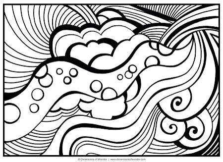 desenho para colorir desenhos abstratos adult coloring
